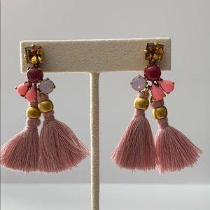 J. Crew Tassel Stud Earrings